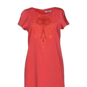 Coral Blumarine Dress